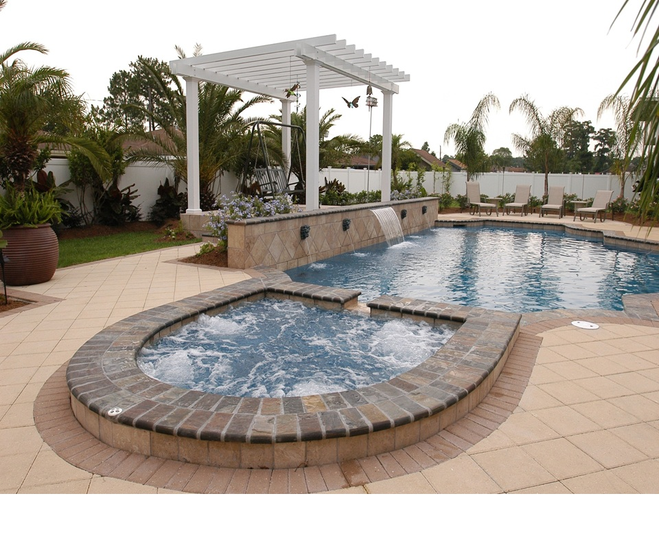 View our custom pool design gallery specialty pools for Pool design company polen
